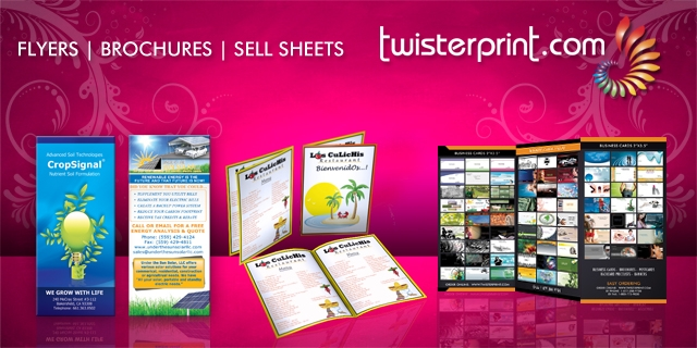 Flyers / Brochures / Sell Sheets