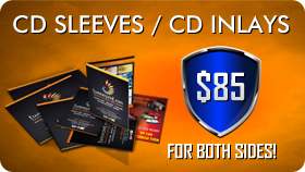 CD Sleeves CD Inlays